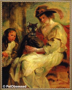 Peter Paul Rubens - Helene Fourment & Her Children