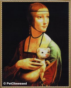 Leonardo da Vinci - Lady with Ermine
